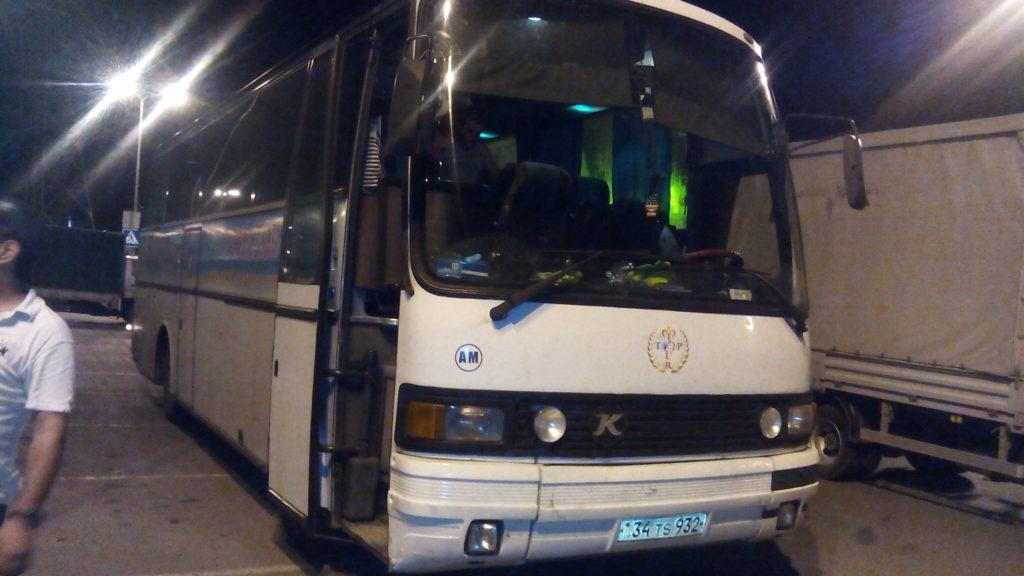 автобус Ростов Ереван билеты